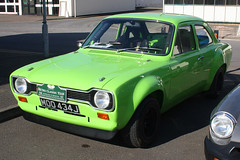 1971 Ford Escort 1300L (MOO 434J) 2000cc - Race Retro 2016 - Stoneleigh Park, Coventry (anorakin) Tags: ford 1971 coventry escort 2016 2000cc stoneleighpark 1300l raceretro moo434j