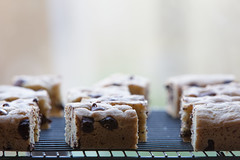 Chocolate Chip Cookie Bars (Pittypomm) Tags: window bars cookie sill chocolate chip cooling