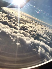 A trip to Istanbul (batuhankuleci) Tags: trip blue sky sun white window clouds plane turkey fly flying bright air istanbul shining izmir