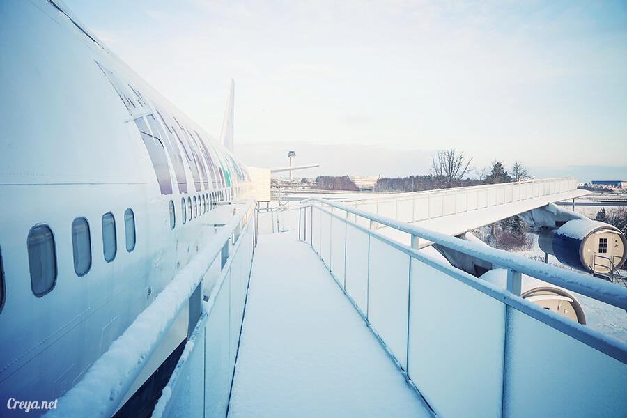 2016.07.08 ▐ 看我歐行腿 ▐ 只載去見周公的飛機,瑞典斯德哥爾摩機場旁的 Jumbo Stay 特色青年旅館22