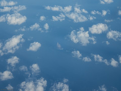 Balls Pyramid from 30,000 plus feet (Ralph Green) Tags: ocean sea clouds australia pacificocean ballspyramid