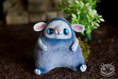 (rioky_angel) Tags: cute monster creativity toys furry handmade ooak fluffy fantasy clay artdoll creature arttoy toymaker polimerclay riokycreatures