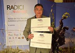 d'Araprì a Radici del Sud 2016 (Sparkling Wines of Puglia) Tags: rosé spumante pergamena metodoclassico radicidelsud riservanobile girolamodamico salonedeivinimeridionali