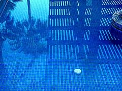Estanque (camus agp) Tags: espaa agua palmeras panasonic estanque sombras marbella reflejos azules fz150 prgolas