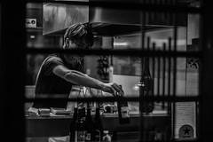Pontocho (Damon Li) Tags: street food white black monochrome japan photography kyoto pontocho