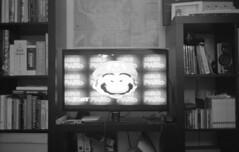it's me, Mario. (Max Miedinger) Tags: leica portrait blackandwhite bw film analog blackwhite minolta nintendo 110 mario bn 64 iso 1600 epson sw 40mm 18 hc m6 bianconero min biancoenero analogica kant leicam6 orwo pellicola v700 rullino un74