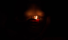Marine_Bougie_Poitrine (mathieuribeiro) Tags: light shadow woman silhouette candle body gorgeous