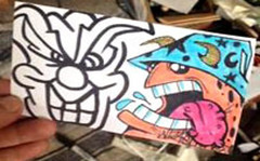 cholowiz_graffiti_stickers_collabs_ (marcomacedo3) Tags: cholowiz wizards graffiti characters stickers collabs slaps nazer26 mtsk skulls clowns street art paste trade cartoons labels sketch spray can
