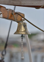 For whom the Bell toll's.. (Harleynik Rides Again.) Tags: focus dof bell swanage shipsbell moonfleet nikond810 harleynikridesagain