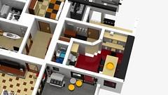 Motorgerte Fachhndler (Power Equipment Dealer) 1.0 13 (-Nightfall-) Tags: lego elevator modular moc powerequipment modularbuilding