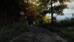 VOEC - 011 (Screenshotgraphy) Tags: bridge sunset mountain lake game nature water colors contrast forest landscape soleil screenshot gare lumire lac ethan steam gaming beaut carter concept paysage vanishing campagne foret beautifull jeu naturelle urbain