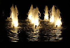 Ghosts of the past (Goruna) Tags: light reflection water night ghosts fountains nightpicture goruna