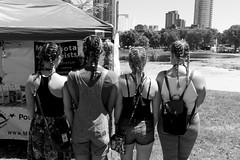 Girls Braids. Minneapolis. June, 2016.  L1111857 (erlin1) Tags: girls summer portrait usa june outdoors minneapolis pride event braids mn loringpark 2016 leicam9 pride2016 evt2016
