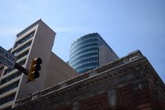 Bright (Sam DeGenova) Tags: baltimore buildings city cars sun shine reflections people street america