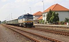 752 046-3 Vranov nad Topl'ou 22 Jun 16 (doughnut14) Tags: tour diesel rail loco slovensko slovakia grumpy notforprofit vranov nfp ckd bardotka 7520463