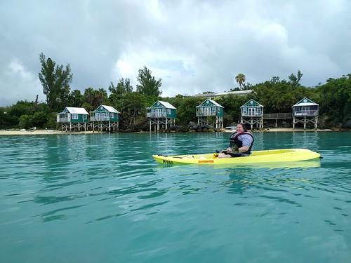 Hooray, I'm kayaking!