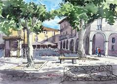 Plaza (P.Barahona) Tags: plaza urbano piedrahita