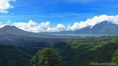 Penelokan, Danau Batur, Gunung Batur dan Gunung Abang, Bali (Sekitar) Tags: bali mountain lake clouds indonesia landscape island asia gunung pulau batur pemandangan danau abang pema penelokan awah