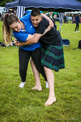 Mixed Wrestling (FotoFling Scotland) Tags: scotland argyll event lochlomond highlandgames luss lusshighlandgames lussgathering