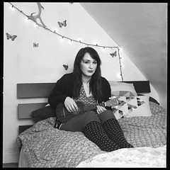 Anamaria (Molly Castle) Tags: film silver print bedroom interior young indoor personality teenager environment enviroment