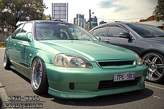 Honda Civic (Anti-Wall Productions) Tags: honda stretch civic midori slammed stance camber ek9 v2lab ccwwheels stanceworks canibeat stancenation loweredlifestyle