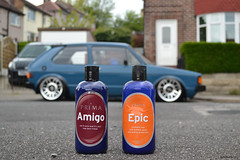 Prima Amigo Glaze and Prima Epic wax! (smith-jack) Tags: rabbit vw golf volkswagen low stance mk1 vabric fifteen52