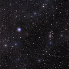 Galaxies through Milky Way dust (strongmanmike2002) Tags: deepspace competition:astrophoto=2013