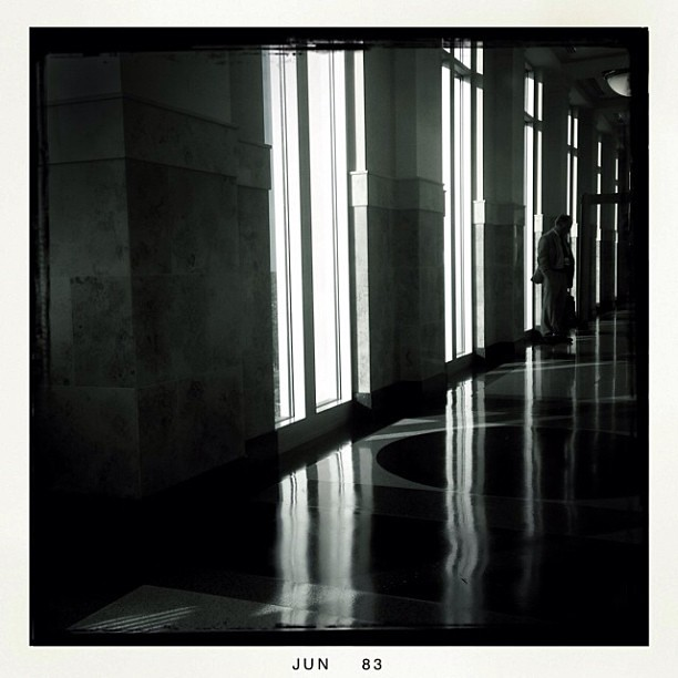Waiting outside courtroom 5D for George Zimmerman trial. #georgezimmerman #trayvonmartin #osphoto #onassignment
