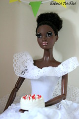 Alvin Ailey American Dance Theater Barbie Doll (Unrinconenmivitrina) Tags: party ballet cake dance doll dolls barbie alvinailey barbiecollector