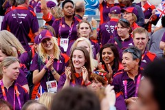 Games Makers Thank You (Taiga Studio) Tags: street greatbritain london trafalgarsquare parade fans athletes olympics thestrand crowds medals paralympics london2012 teamgb gamesmakers ourgreatestteam paralympicteamgb