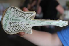 Guitar Biscuits of Rock (The Bespoke Biscuit Co) Tags: biscuit bespoke fsor felixschoolofrock guitarbiscuit bespokebiscuit