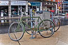 Old School CCM - Ottawa 08 13 (Mikey G Ottawa) Tags: street city ontario canada bike bicycle ottawa rad velo fahrrad ccm bankstreet threespeed mikeygottawa