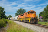 IMRR 61 Elnora IN 04 Aug 2013 (Train Chaser) Tags: imr sd18 isrr indianasouthern imrr61