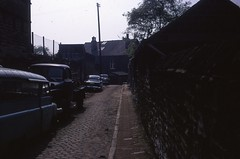 Lane off Beach Hill Road, The Broomhill Study, Sheffield, May 1970 (The JR James Archive, University of Sheffield) Tags: sheffield yorkshire 1970 broomhill southyorkshire
