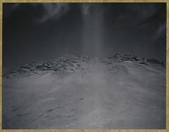 Rocky Summit (Bastiank80) Tags: road camera trip bw white black film field analog polaroid 1 iceland large rocky august summit instant 4x5 sheet format expired 54 wista bastiank