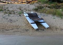 IMG_5340 (MadeInHeaven96) Tags: blue sea sun beach water boat mare barche azzurro leuca