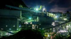 Limestone processing plant (Okutama Industry) (tstsfl) Tags: plant industry japan night zeiss t tokyo sony carl processing limestone okutama za dt variosonnar f3545 1680mm  nex6