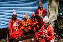 The Vasudevs arrive again (karankpl) Tags: india colors festival streetphotography devotees pune ganpati