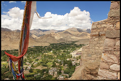 Valley of Leh (GitVG) Tags: travel india mountains canon eos top valley himalaya leh ladakh onthetop prayerflag 60d canoneos60d jammuenkasjmir