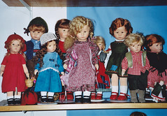Kthe Kruse doll IX & XII (*Dollily*) Tags: wool knitting embroidery yarn company fabric portfolio garn job arbeit firma crocheting wolle stickerei stricken stoff hkeln kathekruse kaethekruse dollfashion kathykruse puppenmode dollsfahion mydesignforkthekruse diplommodedesignerin