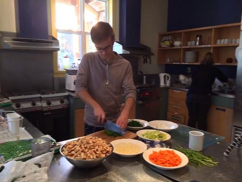 Vorbereitungen für Thanksgiving