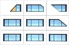 - Window - (Jacqueline ter Haar) Tags: windows utrecht ramen stadskantoor cs explore dichtgetimmerd raampje geometry grafisch vector drawing graphisme simple composition eyecatching framing architecture window bewerking underconstruction
