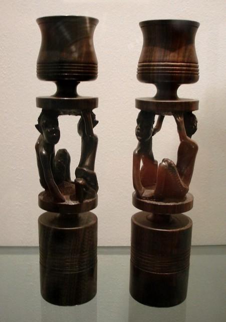 51 African candlesticks