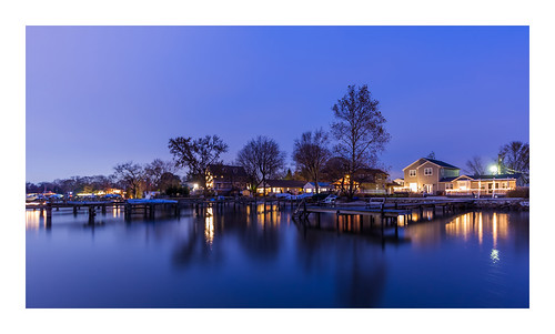 Blue Hour (Wilson Point, Maryland)