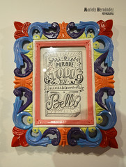 """""""Porque todo es increblemente bello"""" (Mariely Hernndez) Tags: art arte ilustraciones exposicin aragua gabrielachacnestrada espacioanan gabiabi algomixtico"""