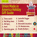 "Looking for some holiday gift ideas? Check out this list of Union Made in America products by the AFL-CIO at http://bit.ly/1bUc7W3 • <a style=""font-size:0.8em;"" href=""http://www.flickr.com/photos/77996728@N08/11406251655/"" target=""_blank"">View on Flickr</a>"