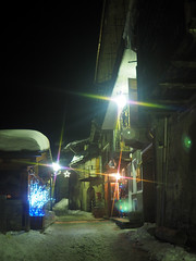 Chianax2013_PC310199_1 (stegdino) Tags: road winter light snow village path neve inverno narrow luce gamewinner chianale agcgwinner pregamewinner