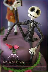 Jack de Pesadilla antes de Navidad (LadySugar Diseo en Azcar) Tags: cake jack conejo disney sally tarta timburton skellington fondant thenightmarebeforechristmas pesadillaantesdenavidad pumpkinking elextraomundodejack aliciaenelpaisdelasmaravillas ladysugar reyesqueleto