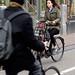 Cyclist, Amsterdam, 2014