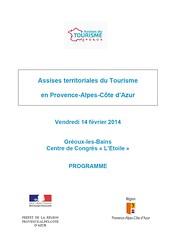 Programme Assises territoriales du tourisme (1) (Alpes de Haute Provence) Tags: alps alpes 04 paca provence alp alpe alpesdehauteprovence provencealpescôtedazur hauteprovence alpeshauteprovence bassesalpes visit04 assisestourismepaca